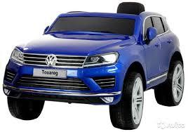 <b>Детский Электромобиль Dake VW</b> Touareg Blue 12V купить в ...