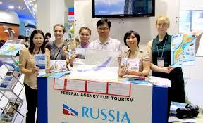 Российский стенд на международной выставке в Корее ...