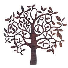 designs outdoor wall art: wall art garden home from c a c a  large metal tree loversiq