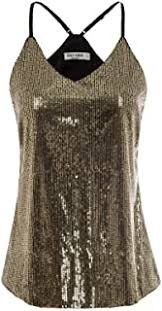 Gold - Tank Tops & Camis / Tops, Tees & Blouses ... - Amazon.ca