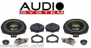 <b>Audio System</b> X 200 BMW MK2 <b>X Ion</b>-<b>Series</b> 3-Wege Teil-Aktiv Front ...