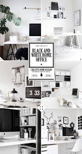 the 3 steps to creating a black and white home office design black and white home office