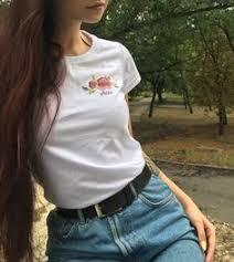 Embroidery t-shirts: лучшие изображения (14) | Вышивка, Детская ...