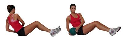 Image result for stability ball oblique twist
