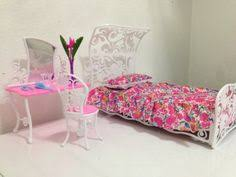 barbie size dollhouse furniture sweet dream bed room play set huaheng toys http amazoncom barbie size dollhouse