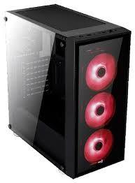 Компьютерный <b>корпус AeroCool Quartz</b> Black/red — купить на ...