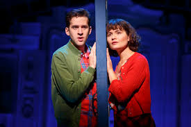 theater review am eacute lie a new musical ahmanson in los angeles when ameacutelie has a meet cute struggling artist nino adam chanler berat at a metro station photo booth we are rooting for them to get together