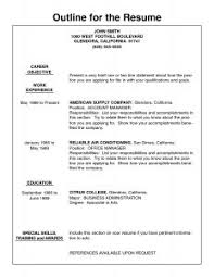 free resume templates resume outline word template mohforum within 81 marvelous resume outline word 79 outline resume template