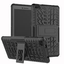 <b>Heavy Duty</b> 2 In 1 Hybrid Rugged Durable <b>Silicone Case</b> for Lenovo ...