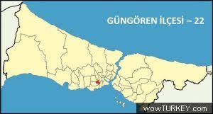 Image result for güngören haritası