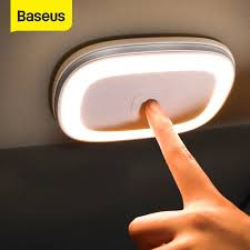 Baseus <b>Car</b> Led <b>Night Light Touch</b> Senor <b>Car</b> Roof Magnet Lamp ...