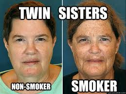 twin sister - smoking memes | quickmeme via Relatably.com