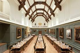 dining hall trinity hall lighting design by hoare lea lighting cambridge uk blackbaud offices cambridge