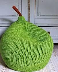<b>Кресло</b>-<b>мешок</b> в виде груши   Вязание, Вязаные <b>подушки</b>