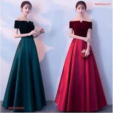 <b>2019 New Arrival Elegant</b> Ladies Off Shoulder Hosted Prom Gowns ...