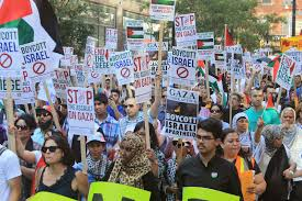 photo essay toronto es gaza ca i consulate and to dundas square passing by bed bath and beyond to call for a boycott of sodastream was organized by house