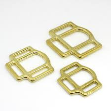 <b>1x Solid Brass</b> Horse Halter Square 3-Sided Halter Bridle Buckles ...