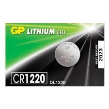 <b>Батарейка</b> GP <b>Lithium</b>, <b>CR1220</b>, литиевая, 1 шт., в блистере ...