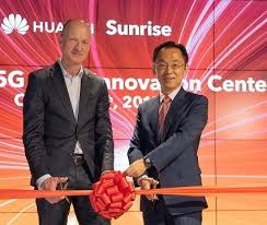 <b>Sunrise</b> and Huawei Open the First European 5G Joint Innovation ...