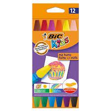 Цветные мелки BIC Oil Pastel 12 цветов | 3amed.ru