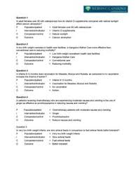 research paper layout apa Common Categories of PICOT Questions