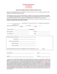 ACH Transfer Archives - ach form