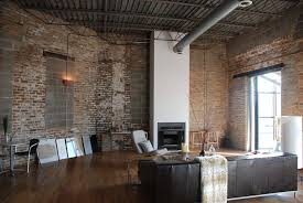 The Brick Dining Room Sets Awesome Apartment Living Room With Brick Wall Design And Grey