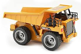 HuiNa CY1540 <b>2.4G</b> 6ch RC <b>Dump</b> Truck with- Buy Online in ...