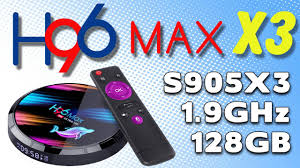 Finally!!! <b>H96 Max X3 Amlogic</b> S905X3 Ultra HD Android TV Box ...