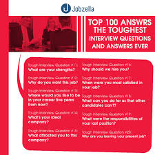 interview questions and answers jobzella top 100 interview questions and answers from jobzella