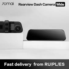 <b>70mai Rearview Mirror Dash</b> Cam Wifi 1600P HD 70 Mai Dashcam ...