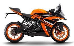 <b>KTM RC 125</b> Price, Mileage, Review - KTM Bikes