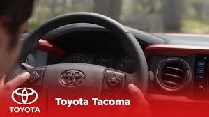 The New Tacoma l <b>Steering Wheel Controls</b> | Toyota - YouTube