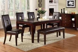 dining room tables and chairs white dining table with bench black wood dining room