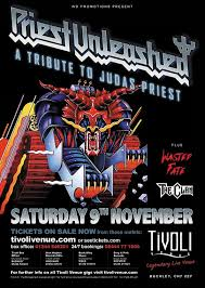 Priest <b>Unleashed</b> (<b>Judas Priest</b> Tribute) – Saturday 9th November ...