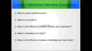 java collections framework interview question java collections framework interview question