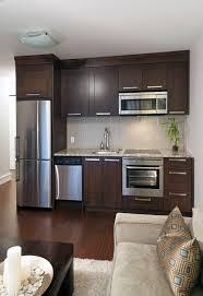 basement popular kitchen mini kitchen a beautiful small kitchendark brown color design for mini