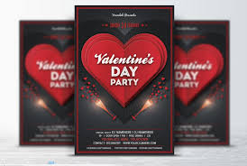 30 best flyer template psd business corporate birthday and club valentine party flyer template psd
