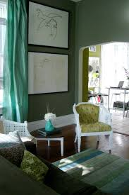 space living room olive: eclectic elegance on a budget rate my space white paint unifies craigs list finds middot green living roomsliving room