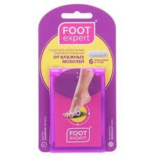 <b>Гидроколлоидный пластырь Foot Expert</b> размер 2х6 см, 6 шт в упак