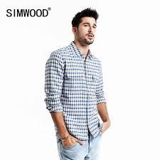 SIMWOOD <b>2019 autumn</b> summer new pure <b>linen</b> cotton shirts men ...