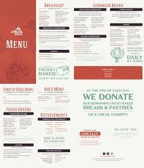 menus atlanta bread cafe menu