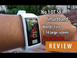 Review No.1 <b>DT 58</b> Smartband - YouTube