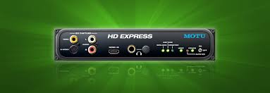 HD Express Overview - MOTU.com