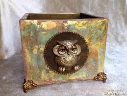 Купить <b>Подставка</b> для ручек «Мудрая сова» <b>13х13х10 см</b>. в ...