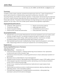 professional nuclear reactor operator templates to showcase your resume templates nuclear reactor operator