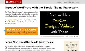 thesis wordpress theme     WordPress Theme Frameworks That Help You Develop WordPress