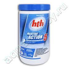 <b>Многофункциональные таблетки hth MAXITAB</b> 5 в 1, 200 гр ...