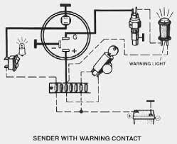 vdo performance instruments oil temperature w warning light