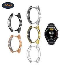 FOLOME [<b>5</b>-<b>Pack</b>] <b>Compatible With</b> Huawei Watch GT/Active 46mm ...